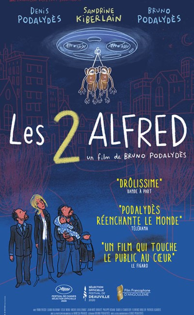 Les 2 Alfred, affiche
