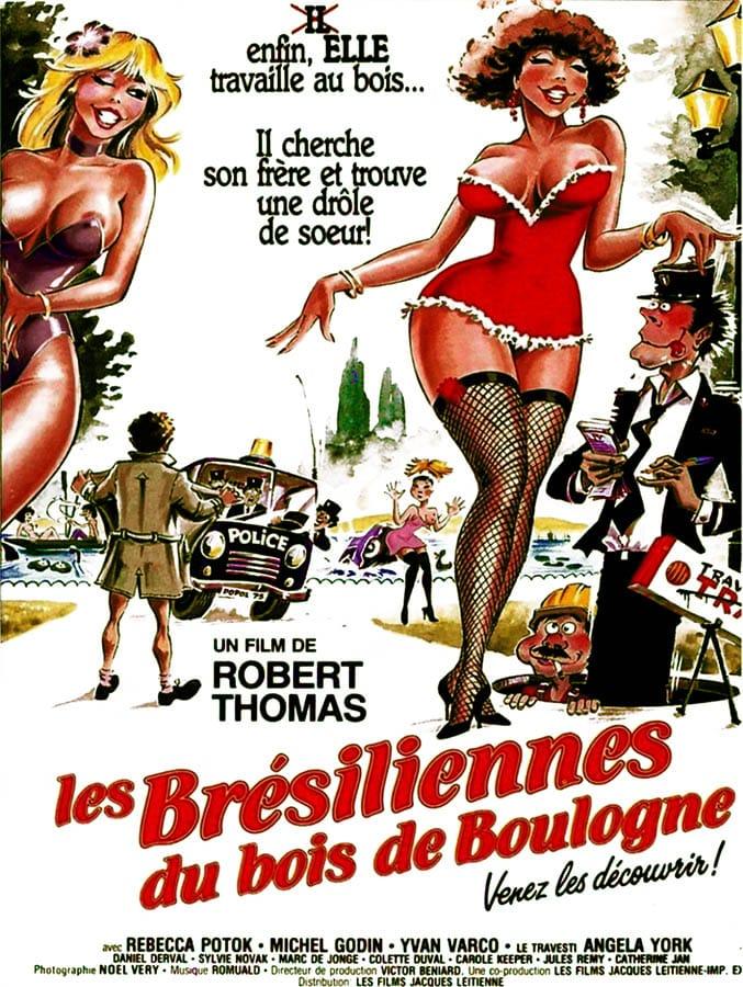 Les brésiliennes du Bois de Boulogne, un classique du cinéma nos par Robert Thomas