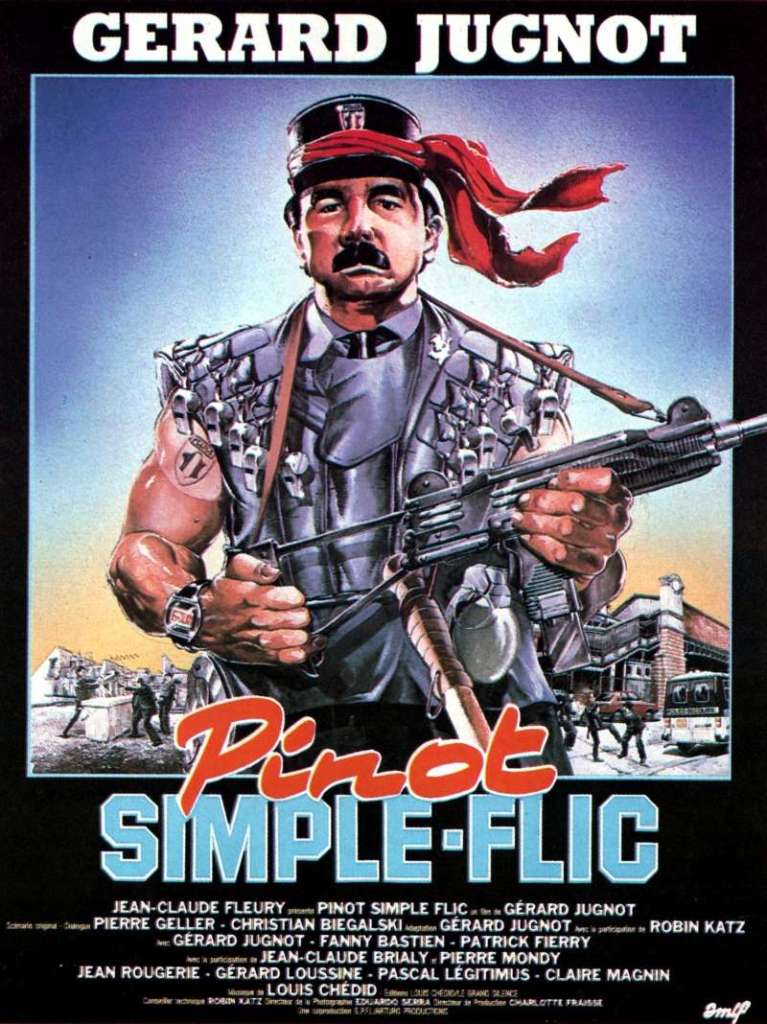 Pinot simple flic, l'affiche