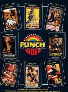 Publicité Punch Vidéo L'éxécutrice
