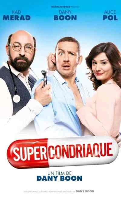 Supercondriaque en VOD, cover