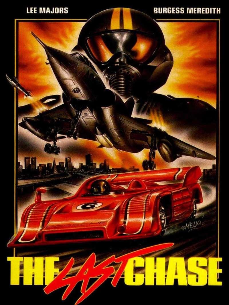 The last chase, affiche vidéo