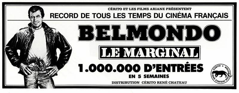 Le Marginal célèbre son million d'entrées à Paris