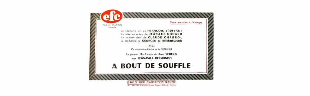 A bout de souffle de Godard, Belmondo superstar