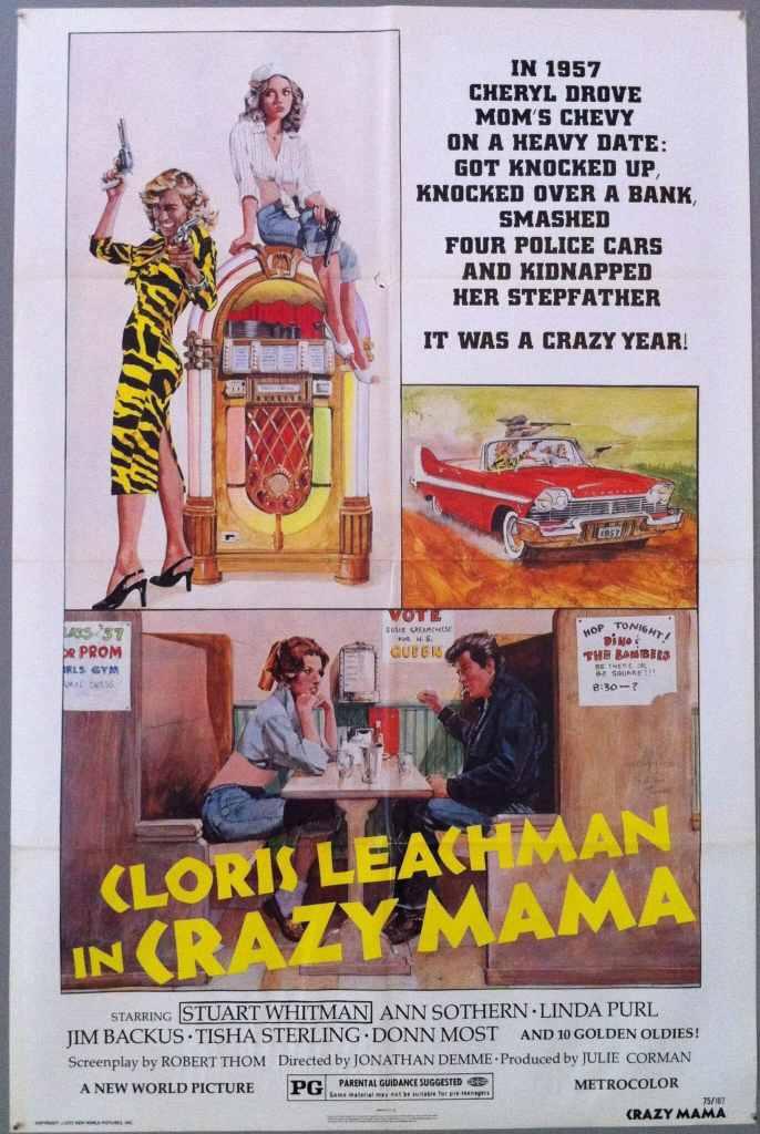 Affiche de Crazy Mama de Jonathan Demme