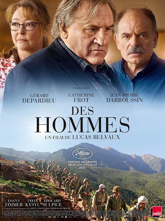 Des hommes de Lucas Belvaux (2020), affiche