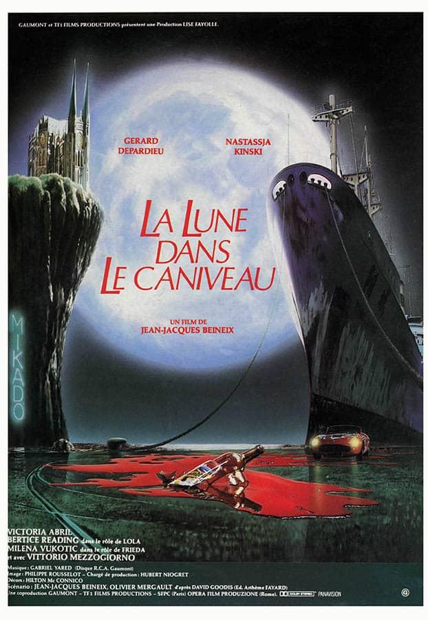 La lune dans le caniveau, affiche du film de Jean-Jacques Beineix
