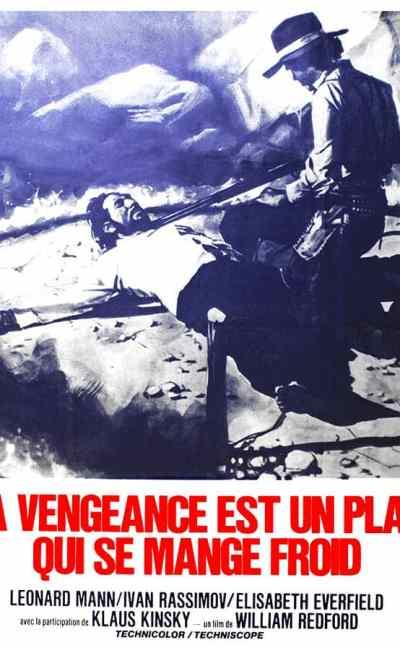 La vengeance est un plat qui se mange froid, affiche du film