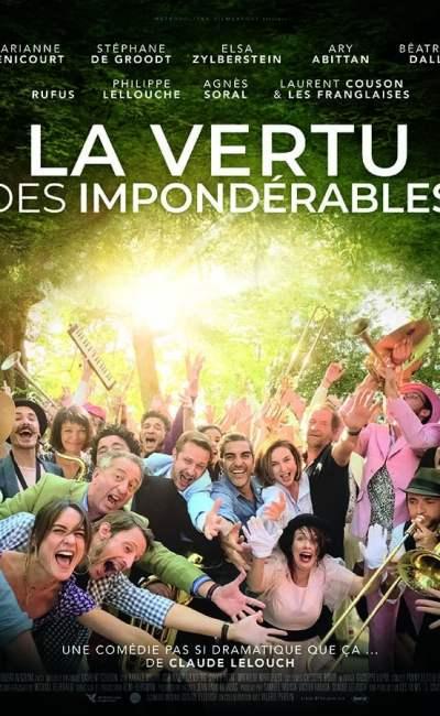 La vertu des impondérables, affiche du film de Claude Lelouch