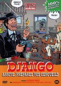 Django arrive, préparez vos cercueils , cover dvd Fluide Glaciale