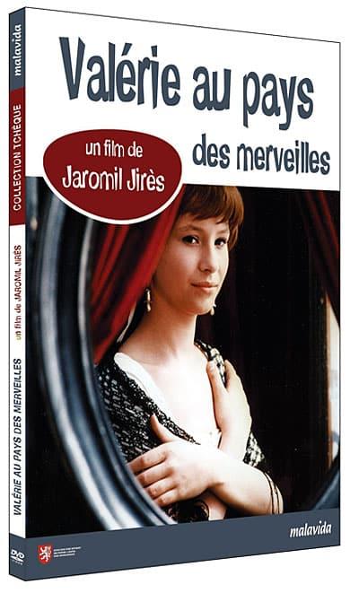 DVD français de Valérie au pays des merveilles
