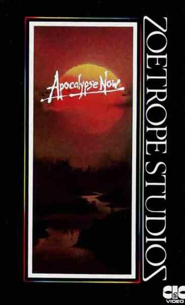 Apocalypse Now, VHS française (septembre 1984)