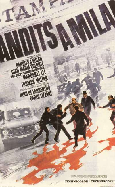 Bandits à Milan, l'affiche
