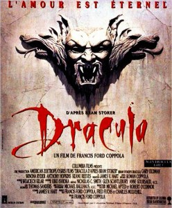 Affiche de Dracula de Bram Stoker, par Francis Ford Coppola