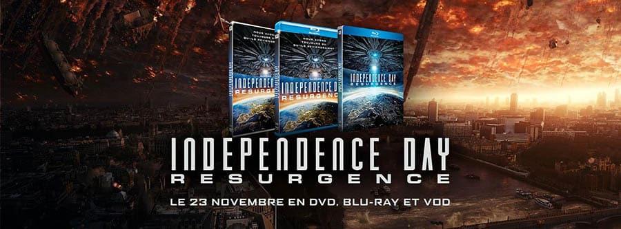 Promo facebook d'Independence Day Resurgence