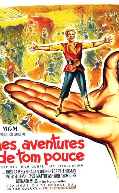 Les aventures de Tom Pouce, l'affiche