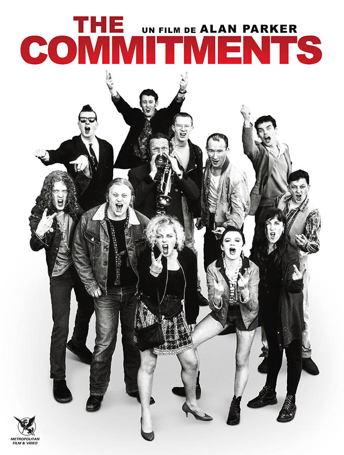 Les Commitments / The Commitments (jaquette vidéo)