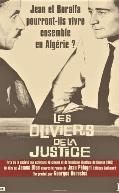 Les oliviers de la justice, l'affiche de la reprise