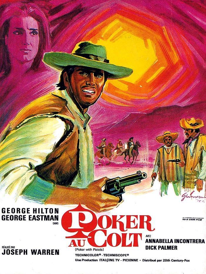 Affiche du film Poker au colt