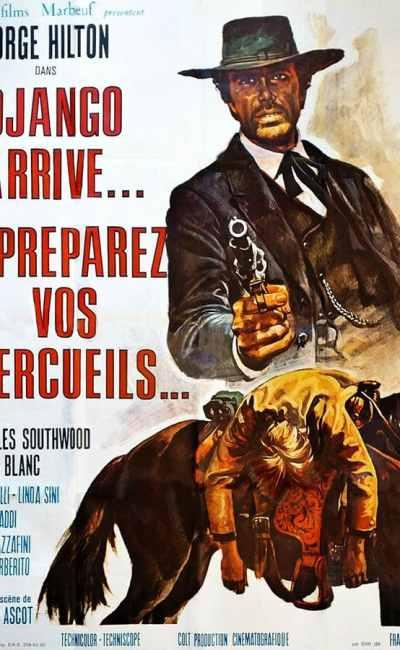 Django arrive... préparez vos cercueil, affiche cinéma