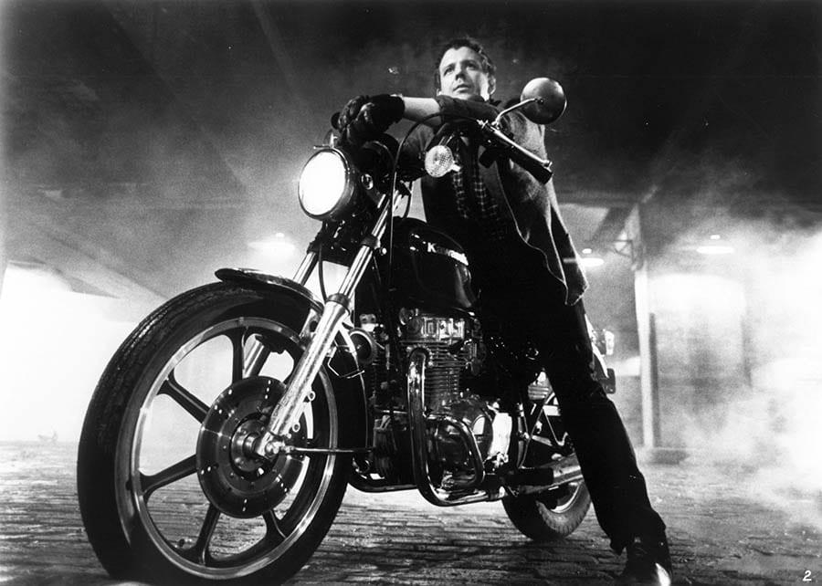 Mickey Rourke dans Rusty James