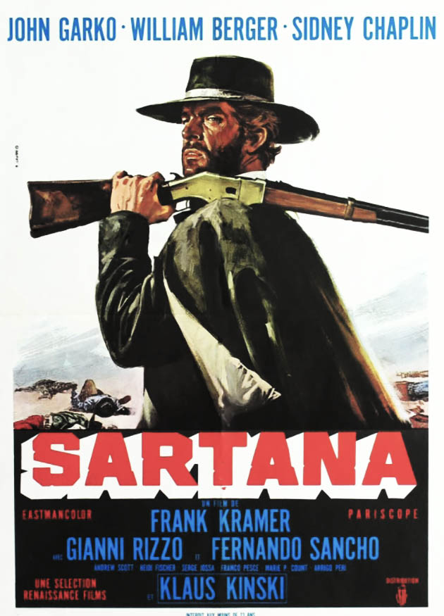 Sartana, affiche française