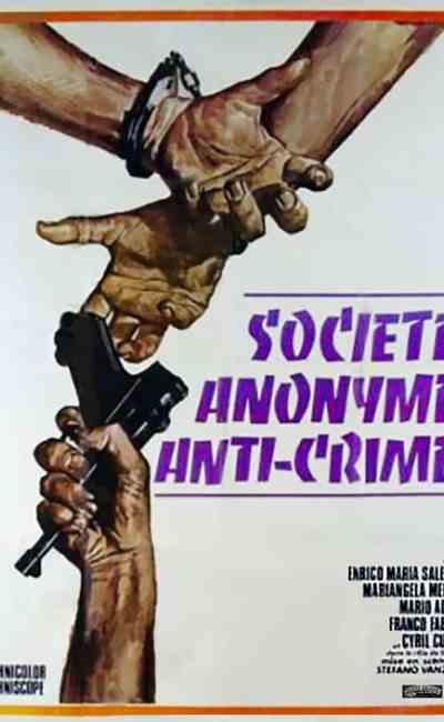 Société anonyme anti-crime de Steno, affiche française