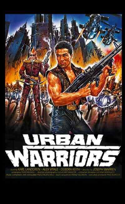 Urban Warriors, affiche d'Enzo Sciotti