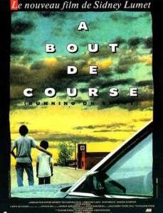 A bout de course, affiche 1988