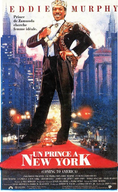 Eddie Murphy dans Un prince à New York, archives cinedweller