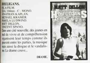 Houligans, cassette vidéo de Violences sur la Ville