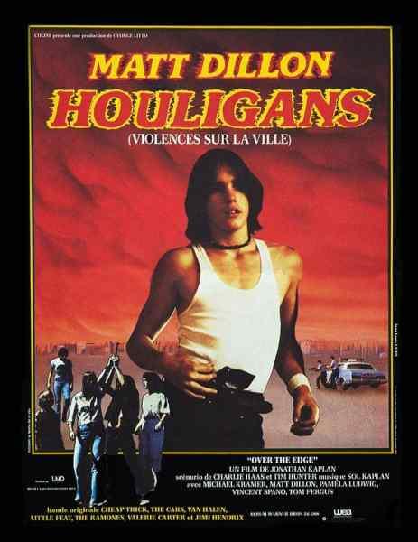 Houligans, Affiche de la reprise 1984 de Violences sur la ville