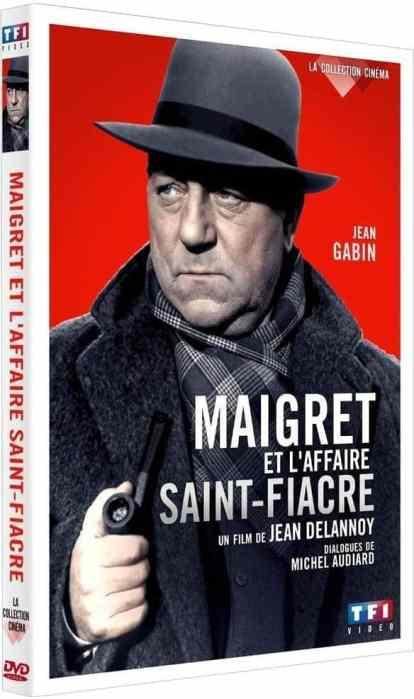 DVD 2015 de Maigret et l'affaire Saint-Fiacre