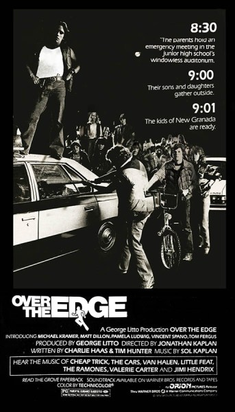 Over the edge, affiche américaine cannes 1979