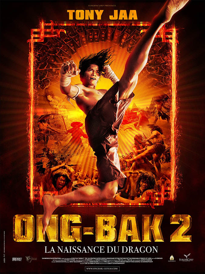 Ong Bak 2 la naissance du dragon, affiche