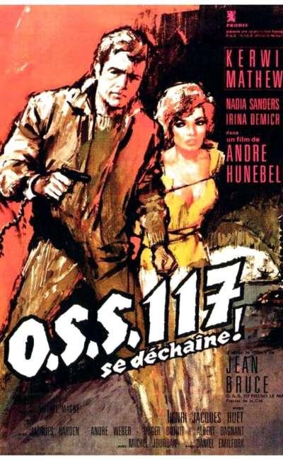 OSS 117 se déchaîne, l'affiche