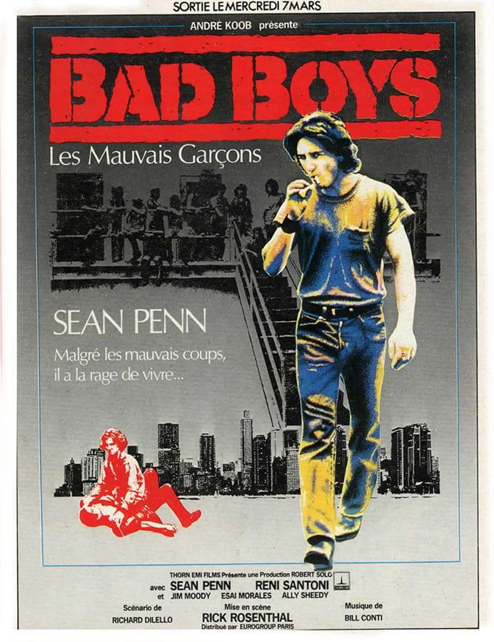 Bad Boys, affiche du film de Rick Rosenthal, avec Sean Penn