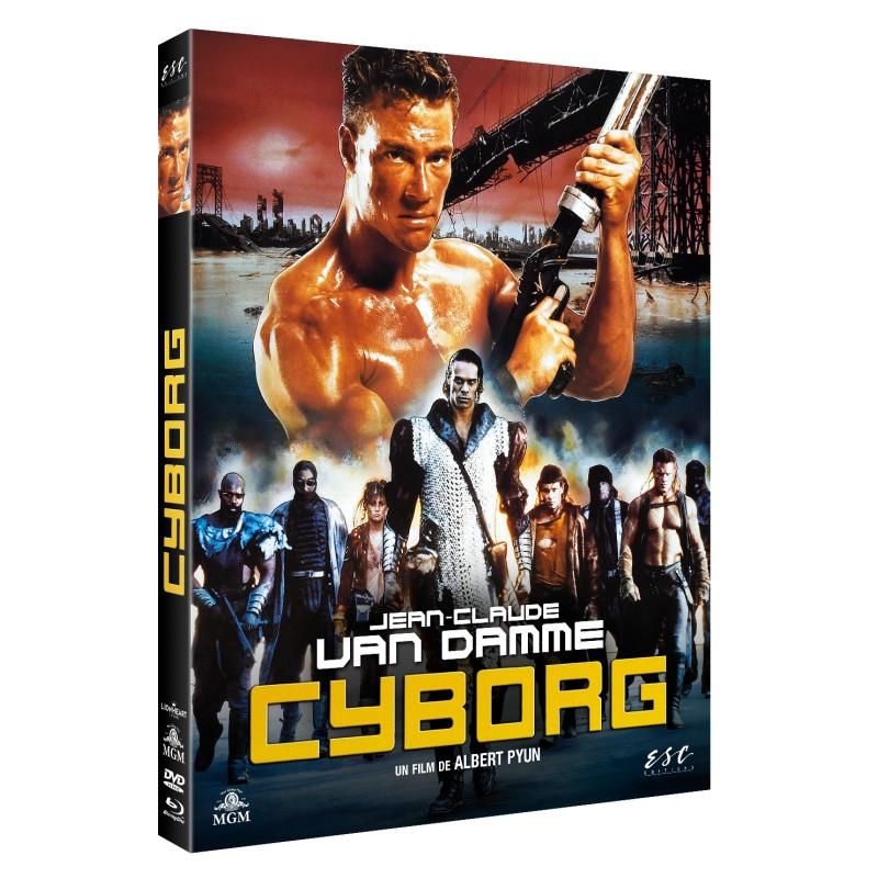Blu-ray de Cyborg de Van Damme