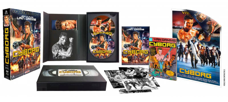 Cyborg, édition VHS, ESC Distribution