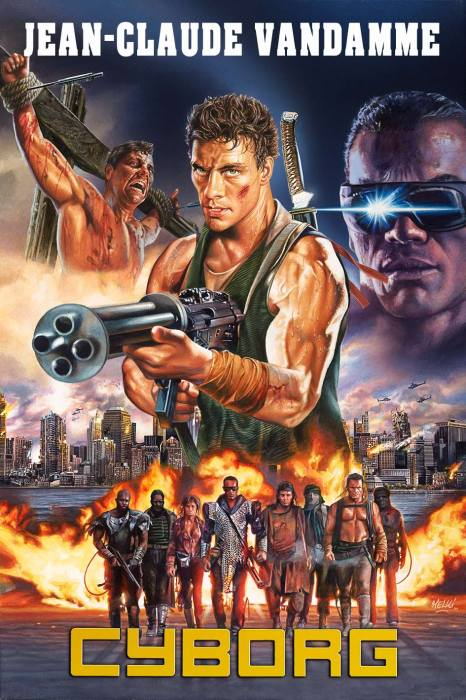 Cyborg avec Jean-Claude Van Damme par Melki