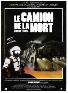 Le camion de la mort (Battletruck), l'affiche du film