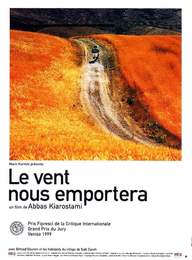 Le vent nous emportera, affiche du film d'Abbas Kiarostami
