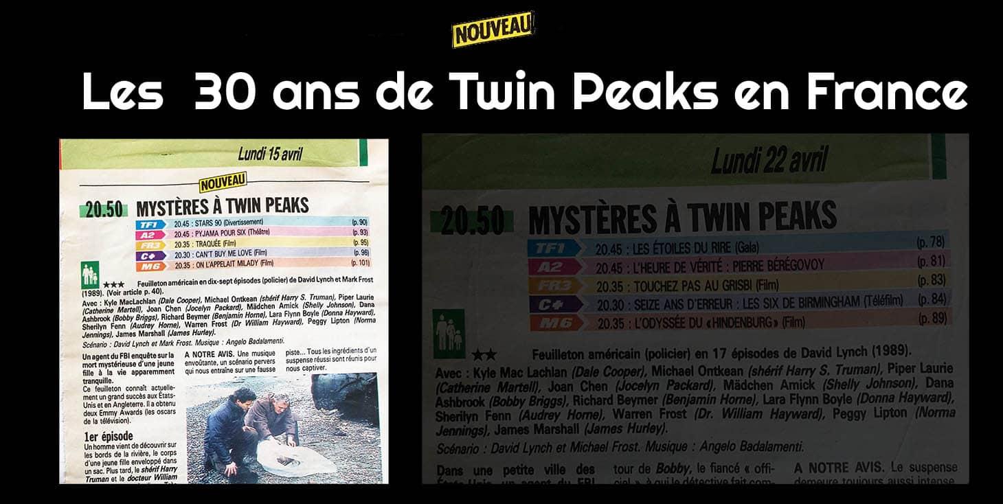 Mystères à Twin Peaks a 30 ans