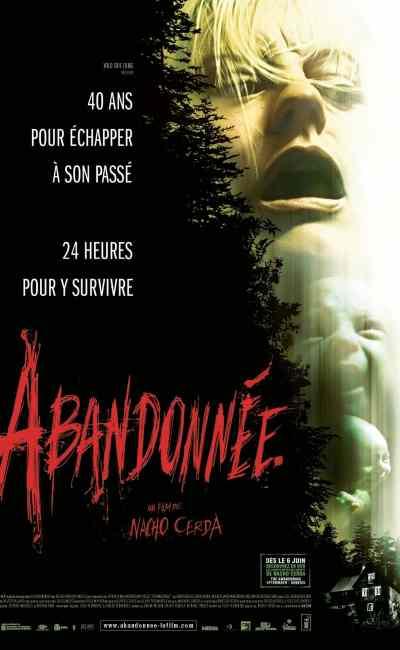 Abandonnée, affiche cinéma du film de Nacho Cerdà
