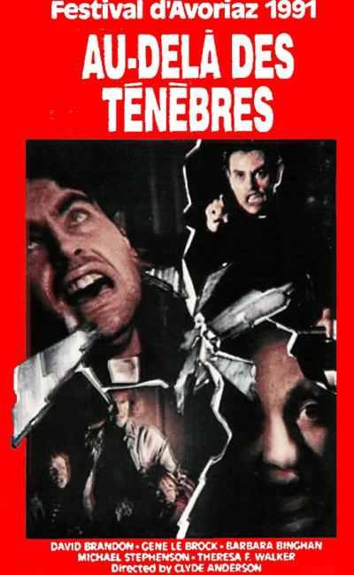 Au-delà des ténèbres de Claudio Fragasso (VHS)