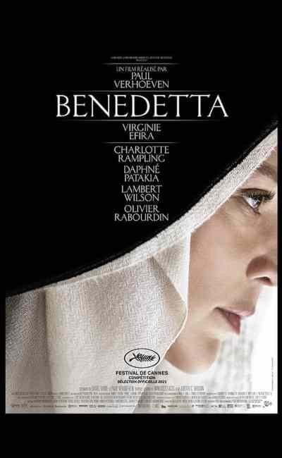 Benedetta, Paul Verhoeven, affiche
