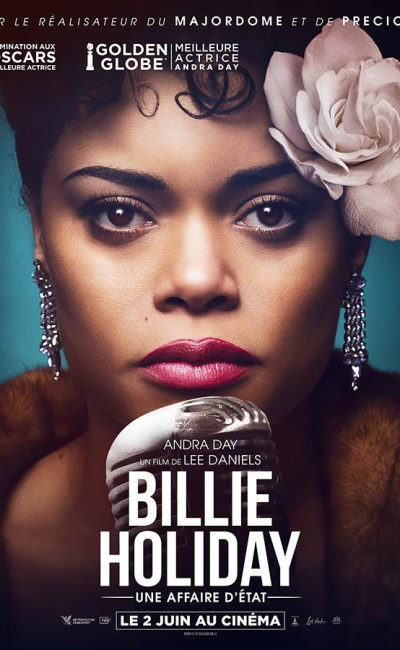 Billie Holiday une affaire d'état, affiche France