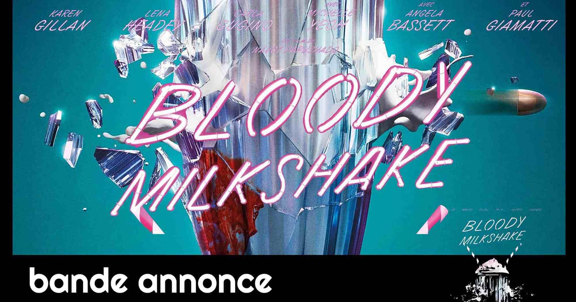 Bloody Milkshake, affiche