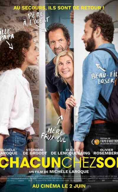 Chacun chez soi - affiche du film de Michelle Laroque