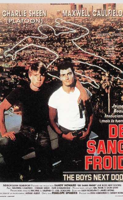 De sang froid (The Boys Next Door), affiche originale 1987 (Satori Publicité)
